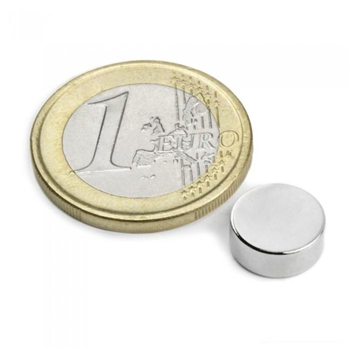 Aimant néodyme brut diametre 10mm x 4mm magnetique