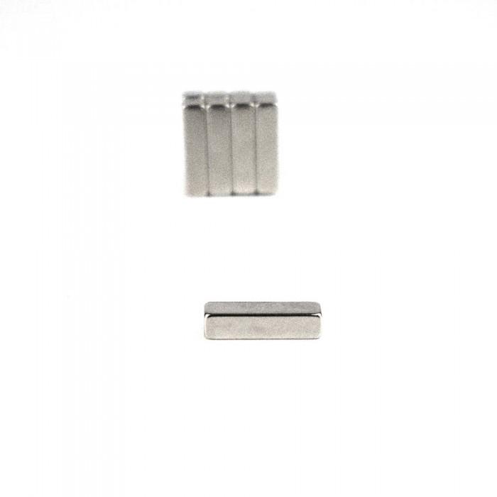 Aimant parallélépipède néodyme 20x5x5mm Puissance 3,5kg magnetique