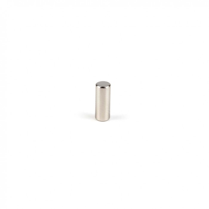 Aimant brut diametre 4mm x 10mm magnetique