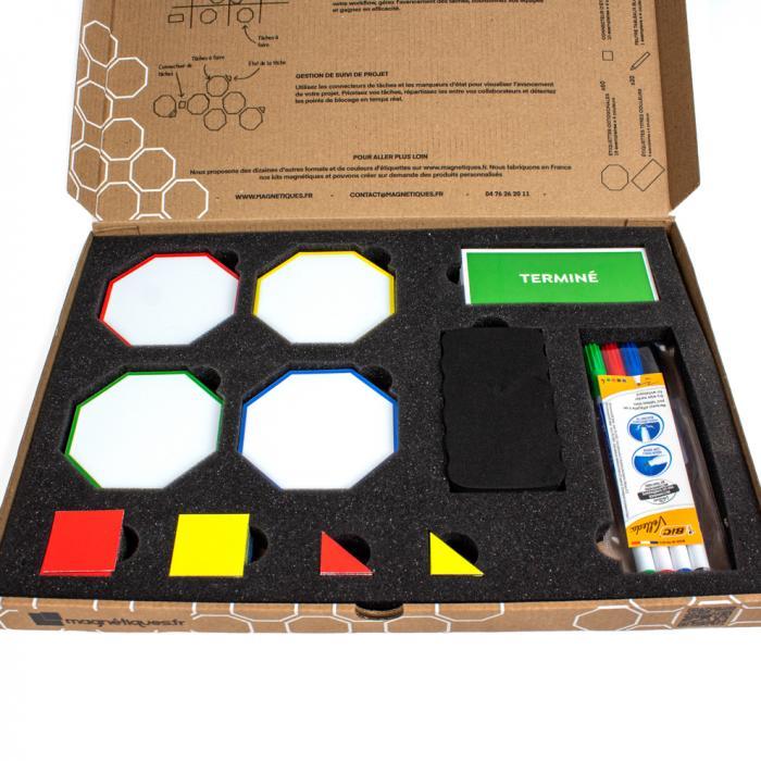 Kit magnétique gestion de projet et management magnetique
