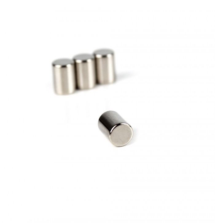 Aimant brut diametre 5mm x 7mm magnetique