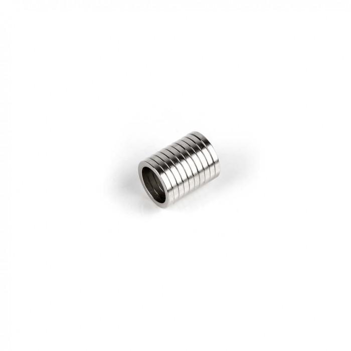 Aimant brut torique 12mm x 8mm x 1.5mm magnetique