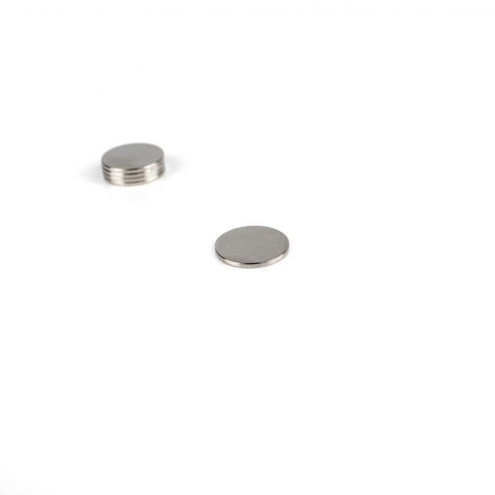 Aimant brut diametre 13mm x 1mm magnetique