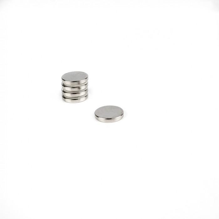 Aimant brut diametre 13mm x 2mm magnetique