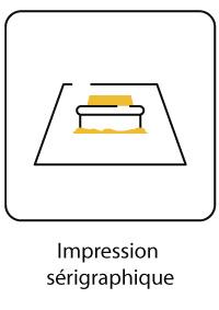 Impression sérigraphique