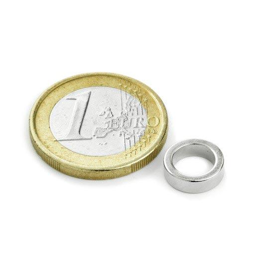 Aimant brut torique 10mm x 7mm x 3mm magnetique