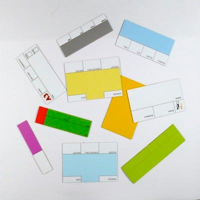 Magnets de gestion 60 x 100 mm magnetique