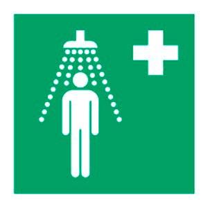 Signalétique magnétique douche de sécurité  magnetique