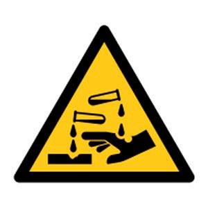 Signalétique magnétique danger - corrosion magnetique