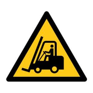 Signalétique magnétique danger - véhicule de manutention magnetique