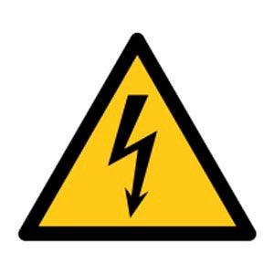 Signalétique magnétique danger - électricité Aimants néodymes