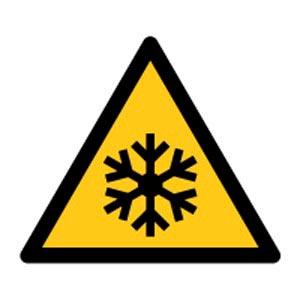 Signalétique magnétique danger - température basse Aimants néodymes