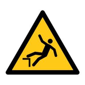 Signalétique magnétique danger - chute magnetique