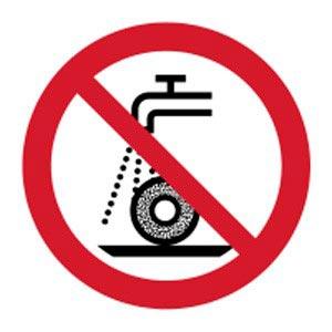 Signalétique magnétique interdit broyage humide magnetique