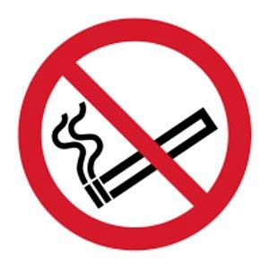 Signalétique magnétique interdit de fumer magnetique