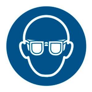 Signalétique magnétique obligation protection yeux magnetique