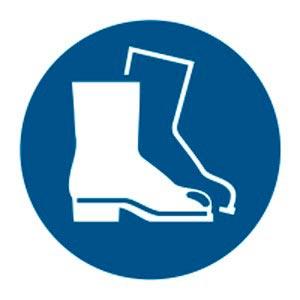 Signalétique magnétique obligation chaussures de sécruité Aimants néodymes