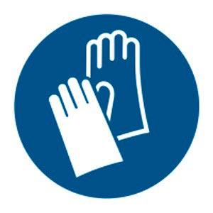 Signalétique magnétique obligation gants Aimants néodymes