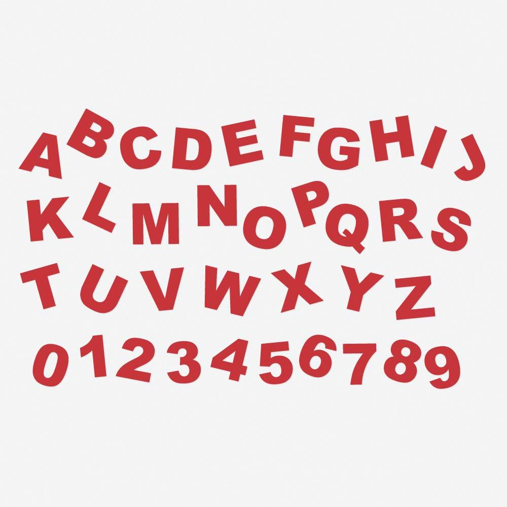 Alphabet magnétique couleur 5 cm  magnetique