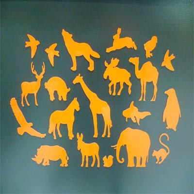 Magnet Silhouette ANIMAUX magnetique