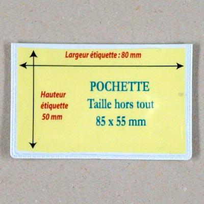 Pochette magnétique Hauteur 85mm Aimants néodymes