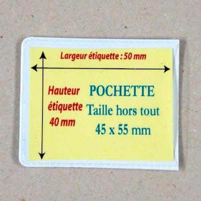 Pochettes magnétiques  45 X 55 mm Aimants néodymes