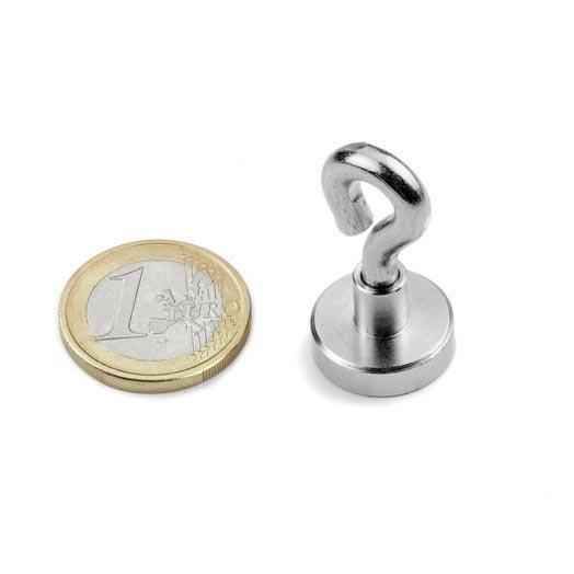 Oeillet magnétique 16mm Aimants néodymes