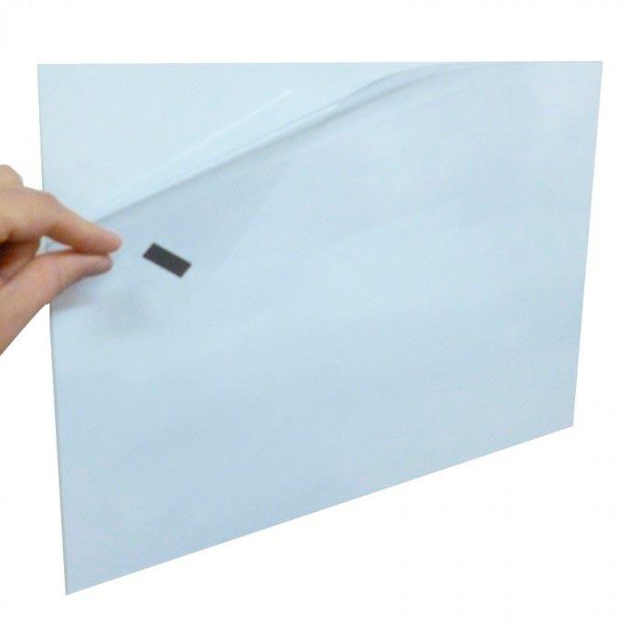 Pochette magnétique ouverture coin A4 220mm x 305mm Aimants néodymes