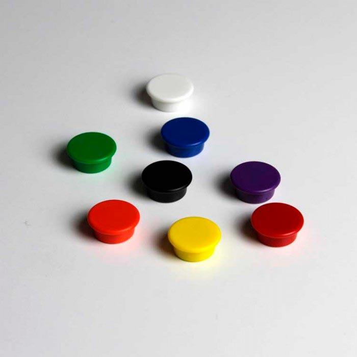 Aimants bloc rond 18mm x 8mm magnetique