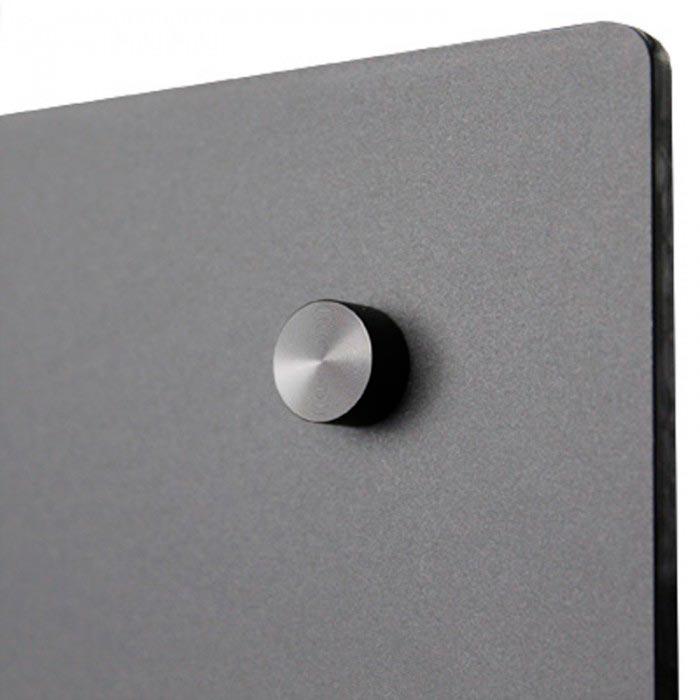 Fiche produit : Etagère magnétique plexi Noir Brillant 350 mm