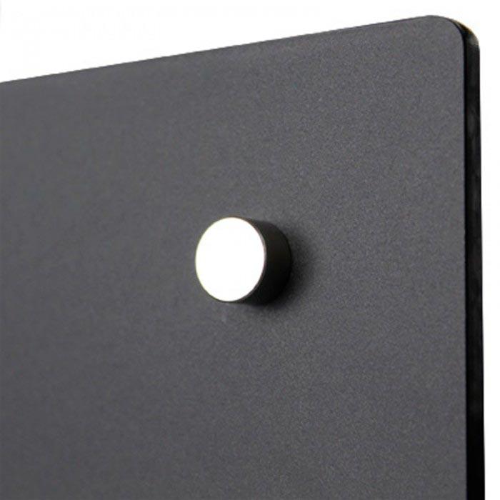 Fiche produit : Etagère magnétique plexi Noir Brillant 700 mm