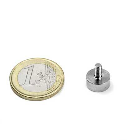Aimant à tige filetée 10mm magnetique