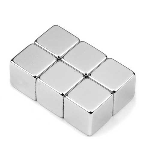 Aimant brut 20mm x 20mm x 20mm  magnetique