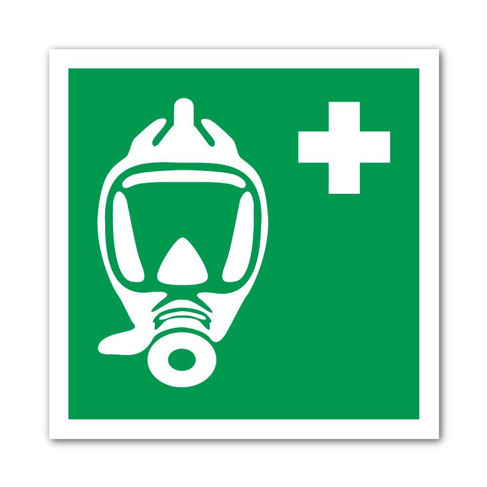 Sticker Appareil respiratoire 100X100mm magnetique