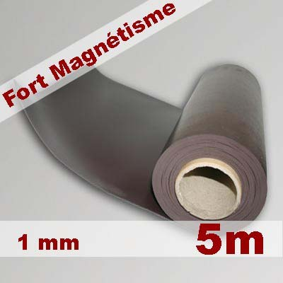 Rouleau Magnétique en caoutchouc aimanté solution magnétique