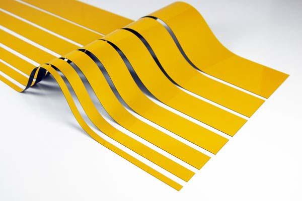 Des bandes magnétiques à découper pour une personnalisation à 100 %