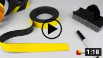 Videos rouleaux magnétiques couleurs